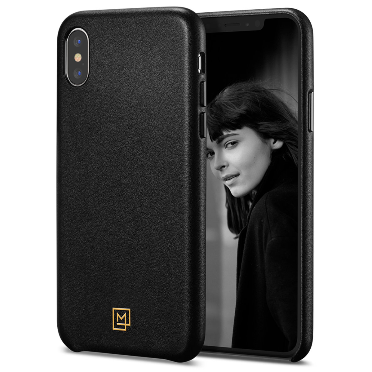 iPhone XS / X Case La Manon câlin - Chic Black