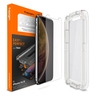 Spigen iPhone XS / X Glass EZ Fit 玻璃保護貼 (One Pack) - 透明