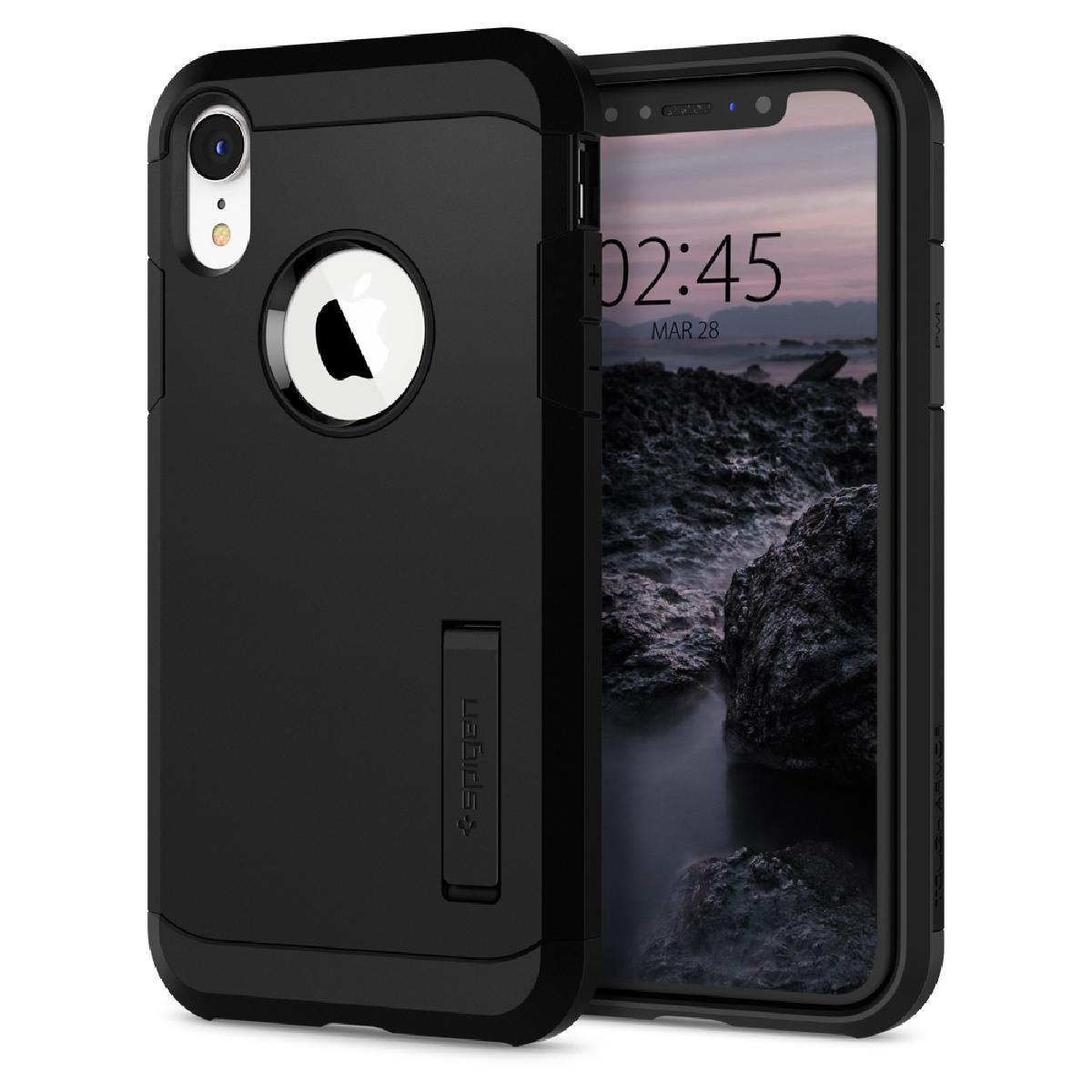 Spigen iPhone XR Case Tough Armor - Black