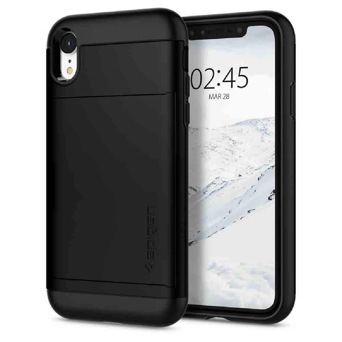 Spigen iPhone XR Slim Armor CS 保護殼 - 黑