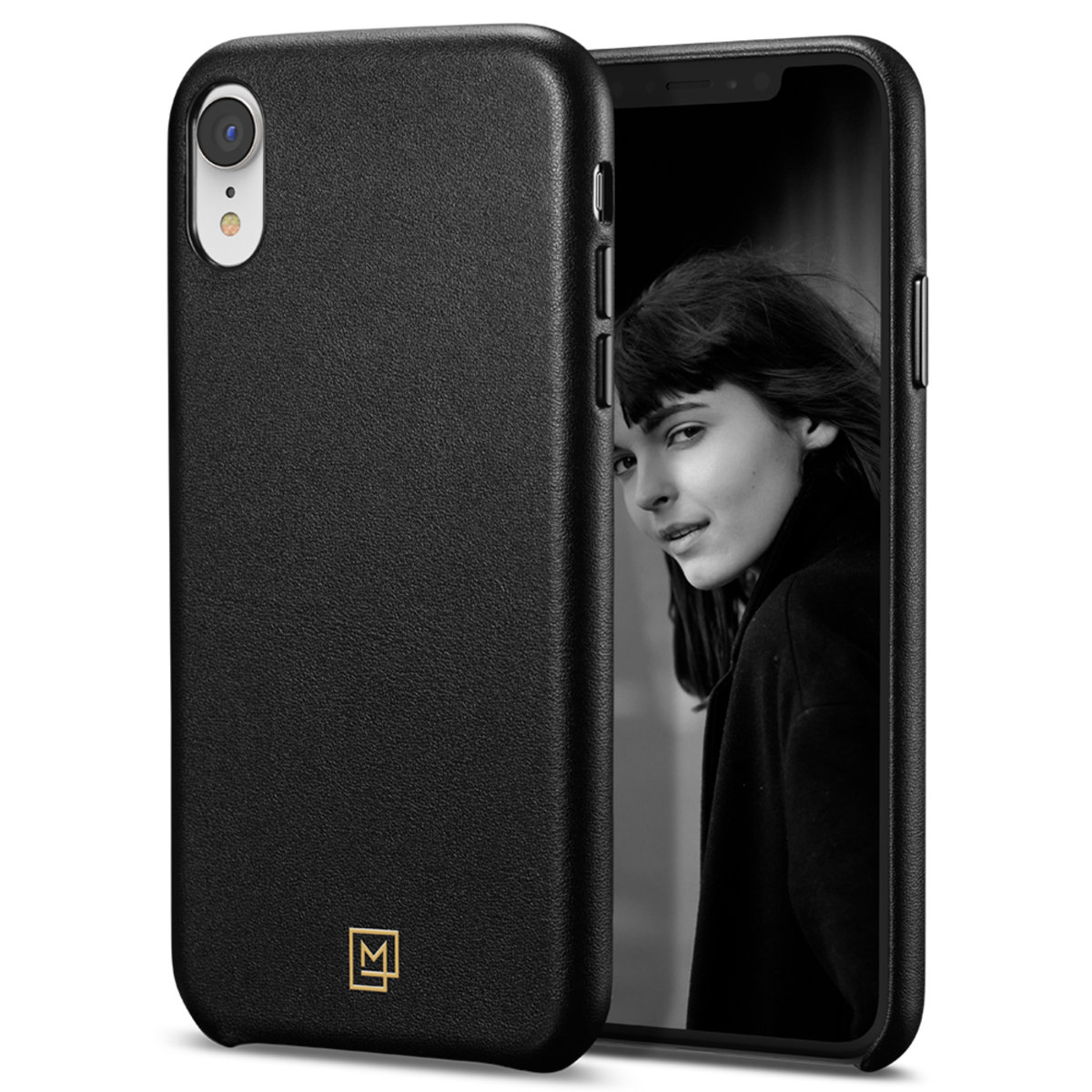 iPhone XR Case La Manon câlin - Chic Black