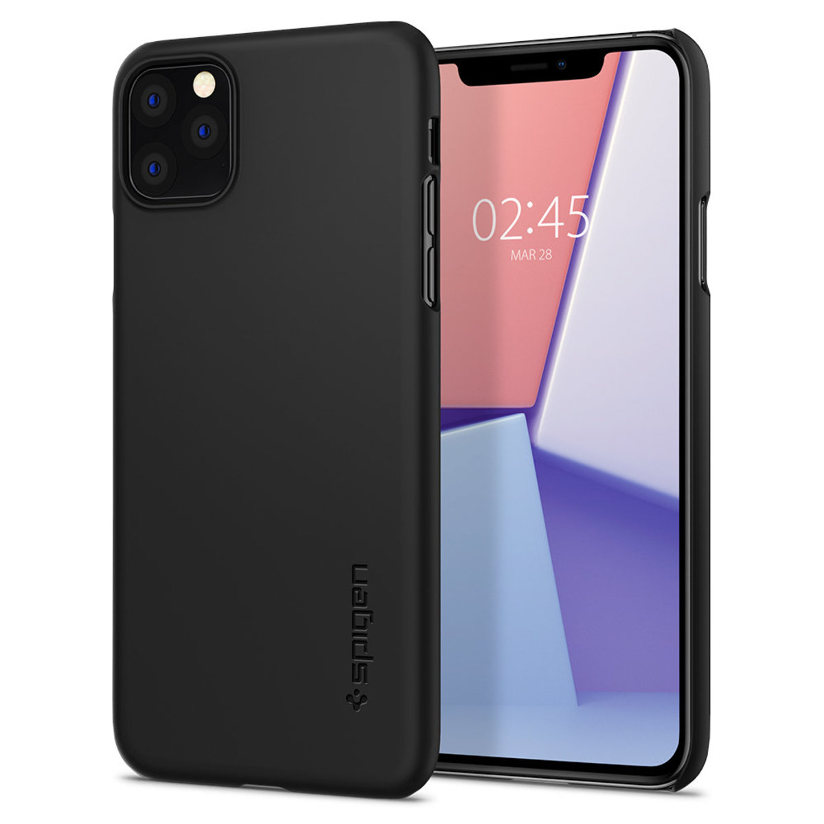 iPhone 11 Pro Max Thin Fit 保護殼 - 黑