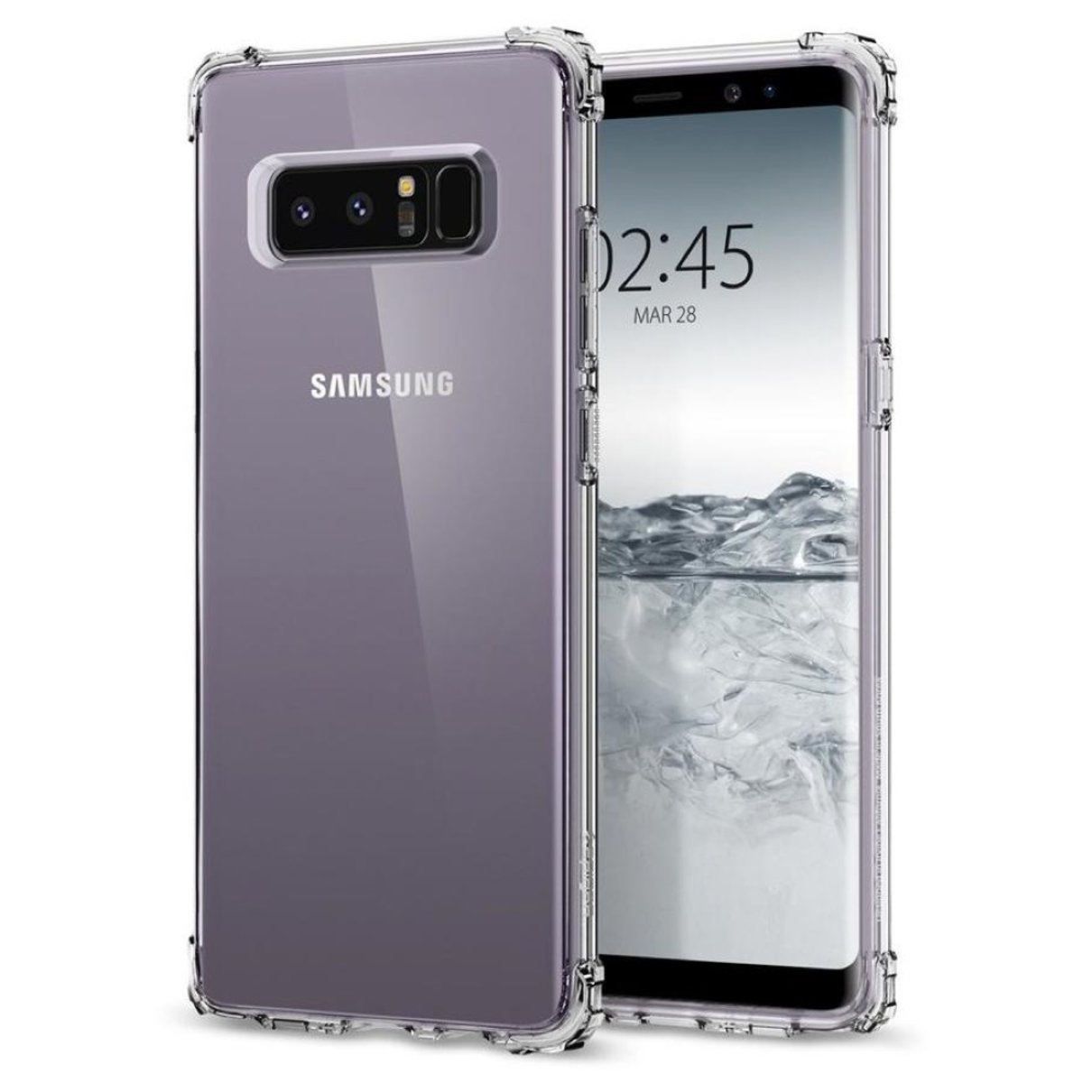 Galaxy Note 8 Case Crystal Shell - Crystal Clear
