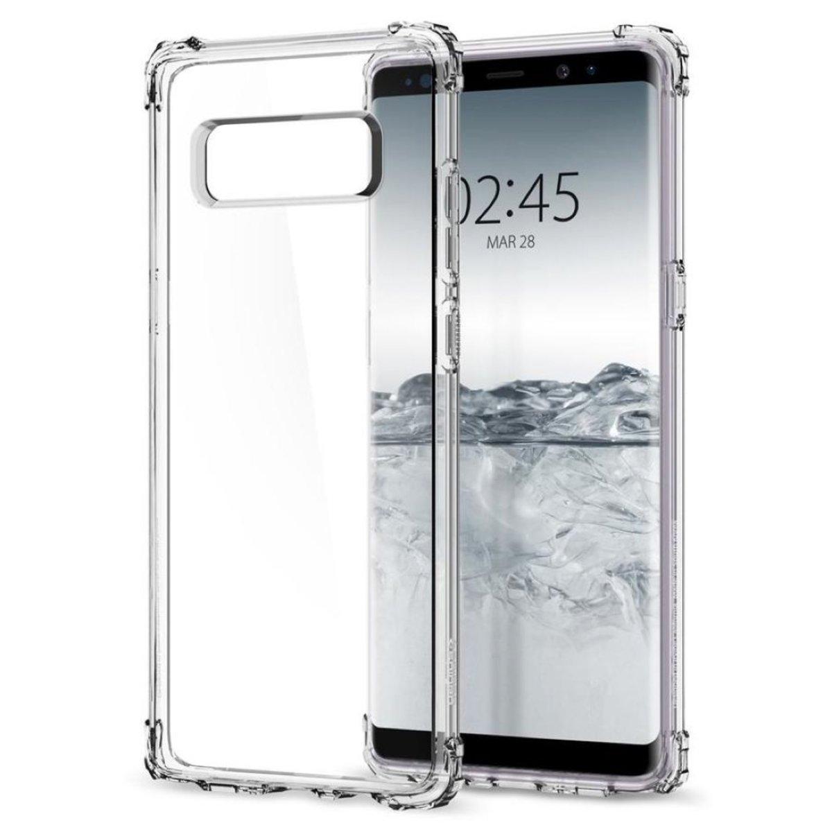 Galaxy Note 8 Crystal Shell 保護殼 - 晶透
