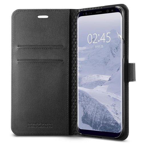Galaxy S9 Wallet S 保護殼 - 黑