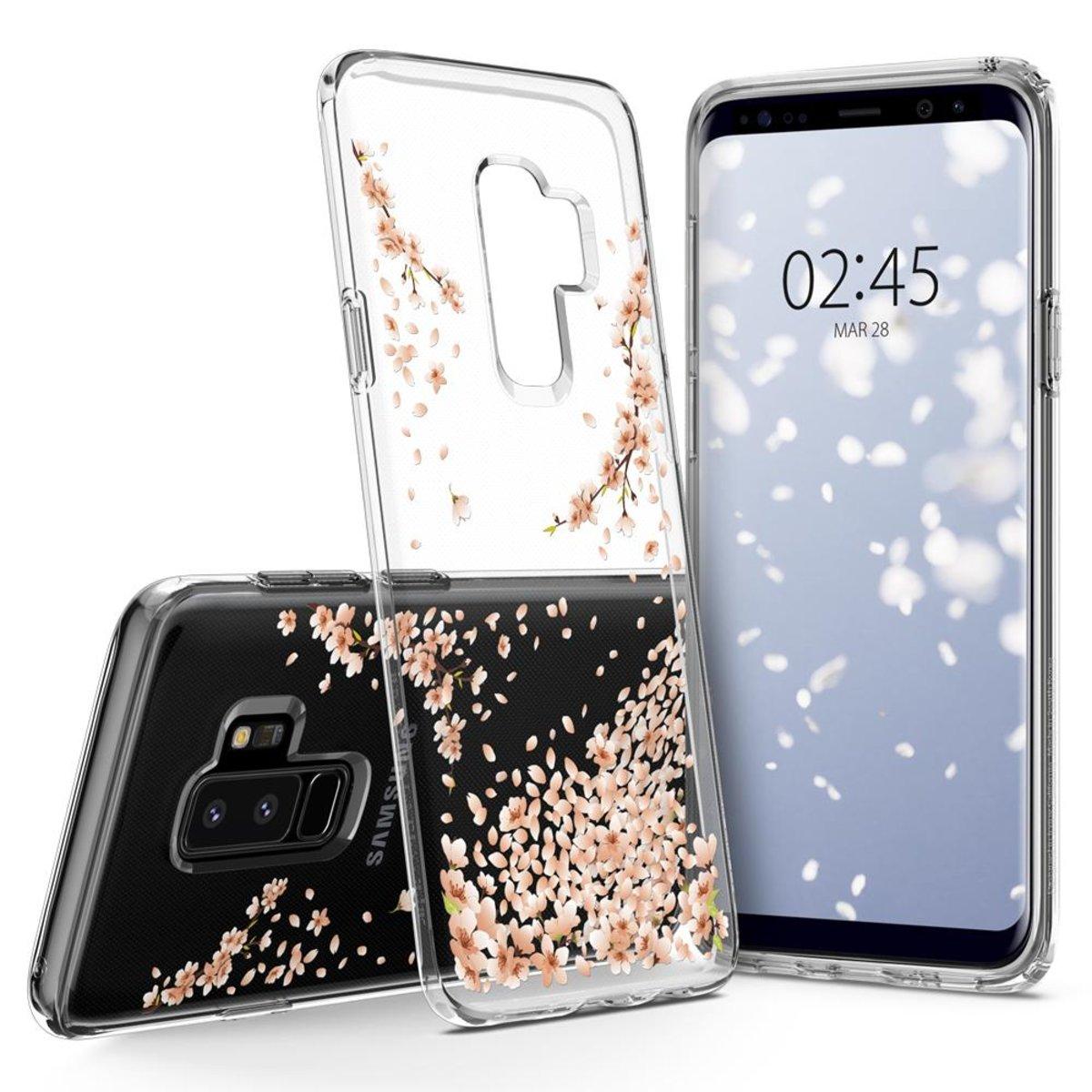 Galaxy S9+ Case Liquid Crystal Blossom - Crystal Clear