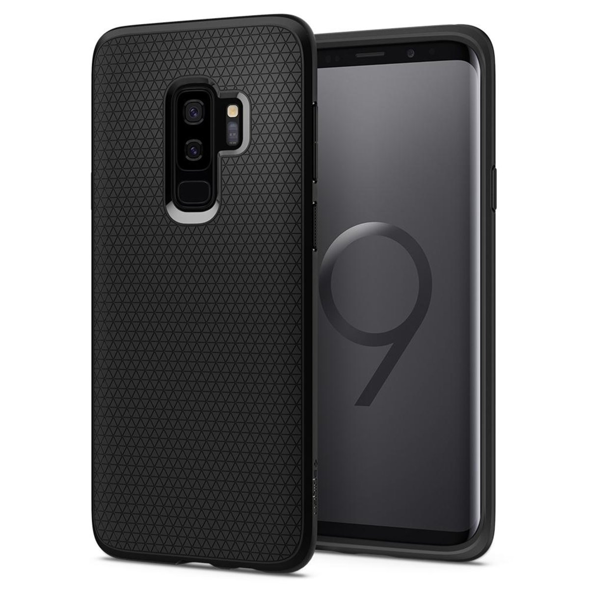 Galaxy S9+ Case Liquid Air - Matte Black