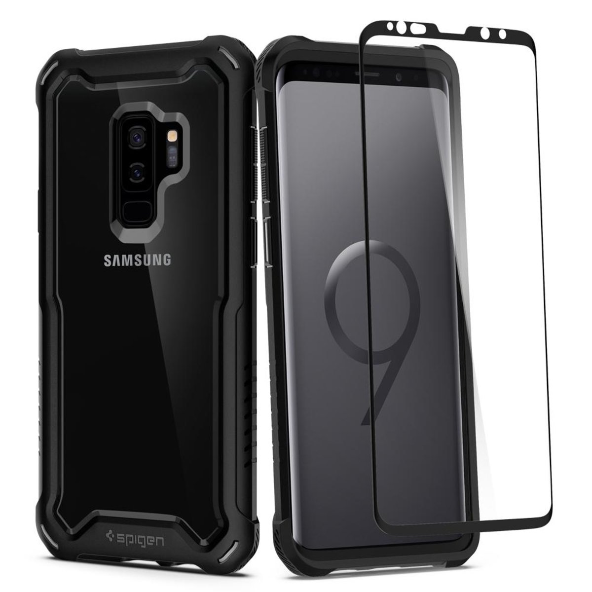 Galaxy S9+ Case Hybrid 360 - Black