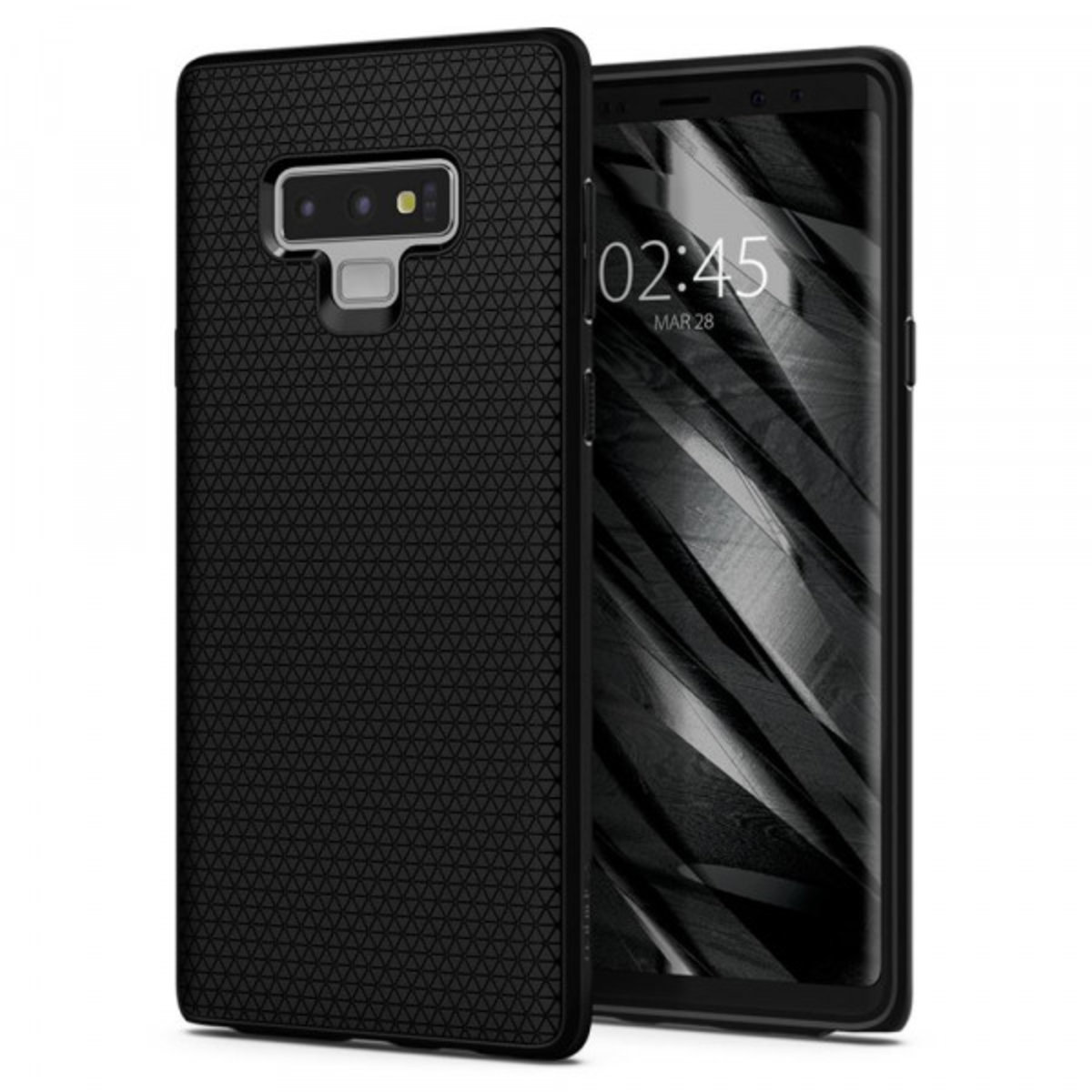 Galaxy Note 9 Case Liquid Air - Matte Black
