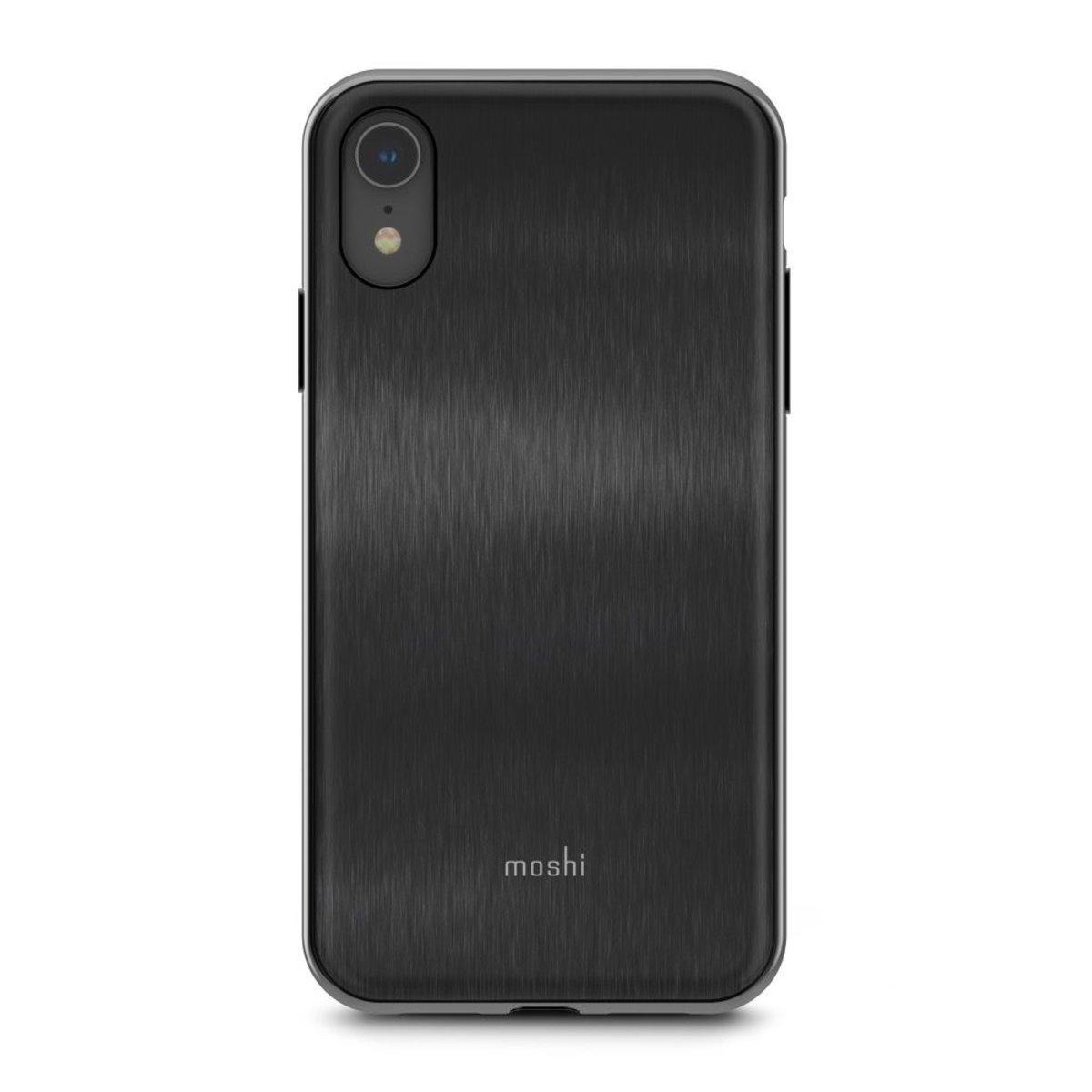 iGlaze iPhone XR 超薄時尚保護殼 - 黑
