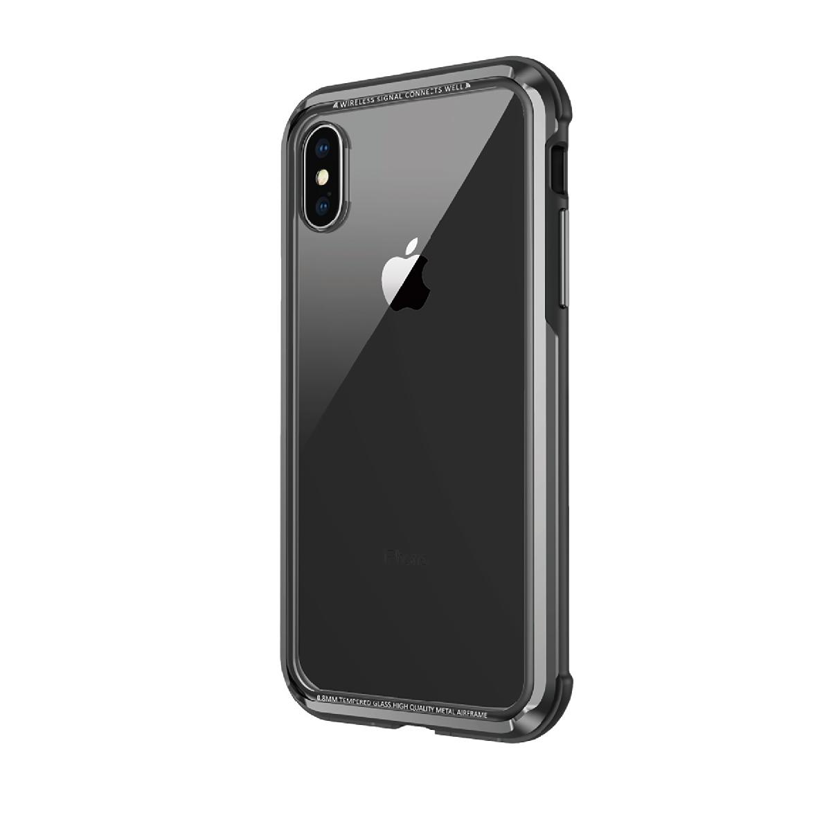 iGlass Case for iPhone XS Max - Black