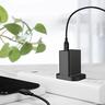 USB-C 快速充電火牛 (18W) - QC3.0 (三腳插頭) - 黑色