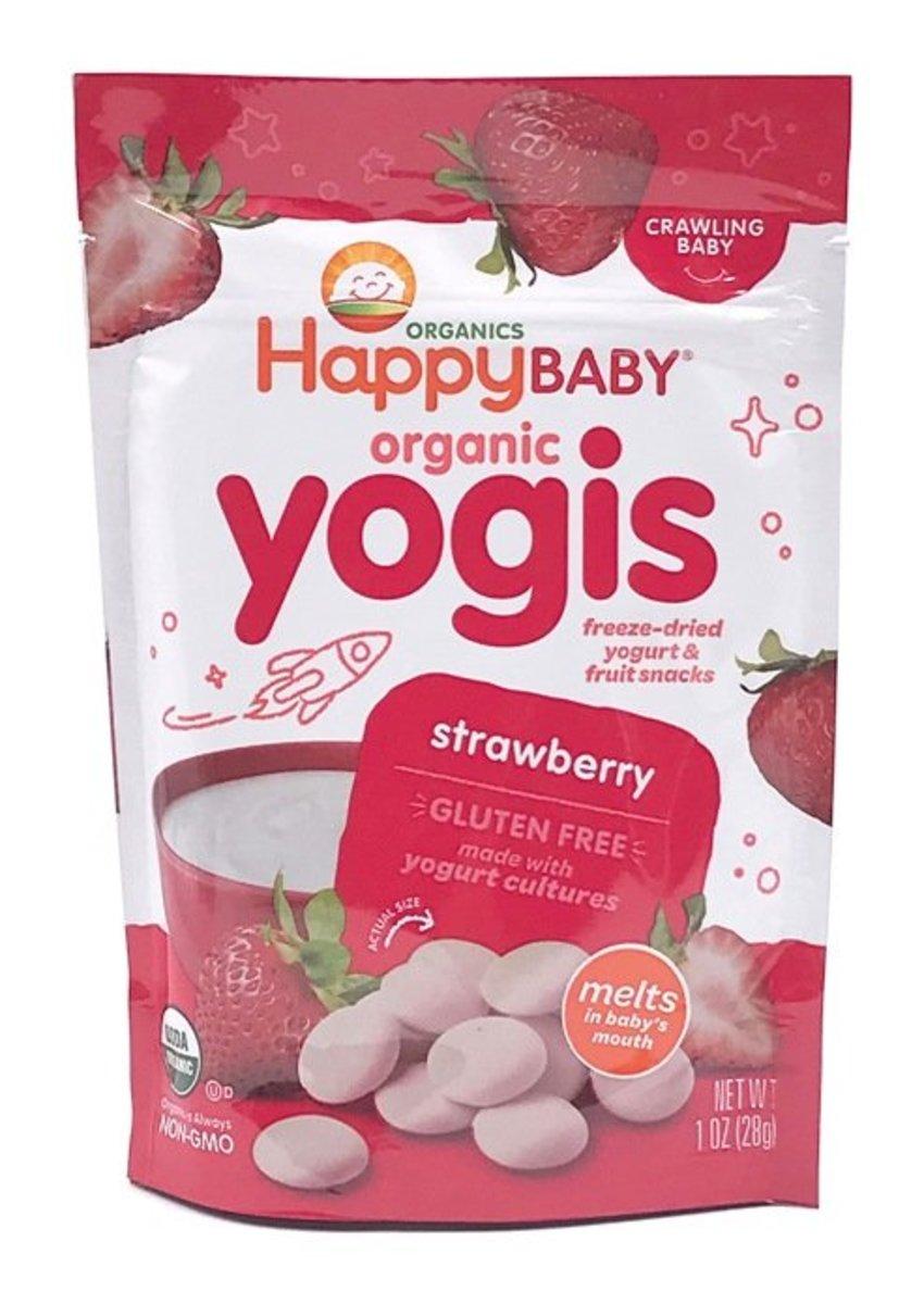 Organic Strawberry Yogis 28g