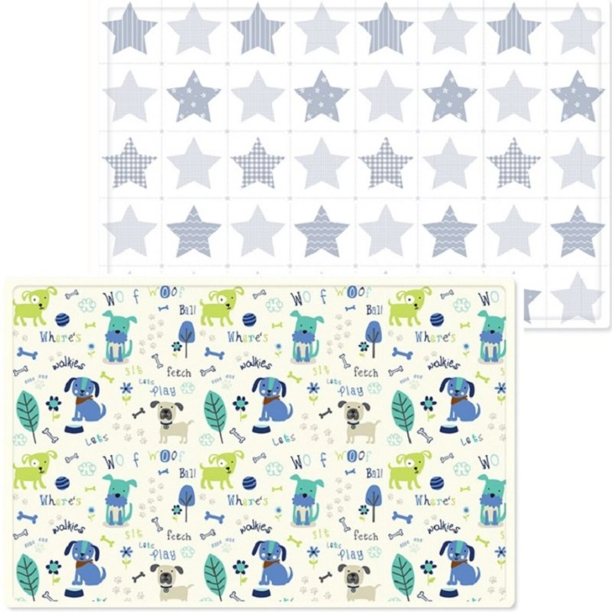 Korea Baby Safety Play Mat Woof Woof  - XL Size