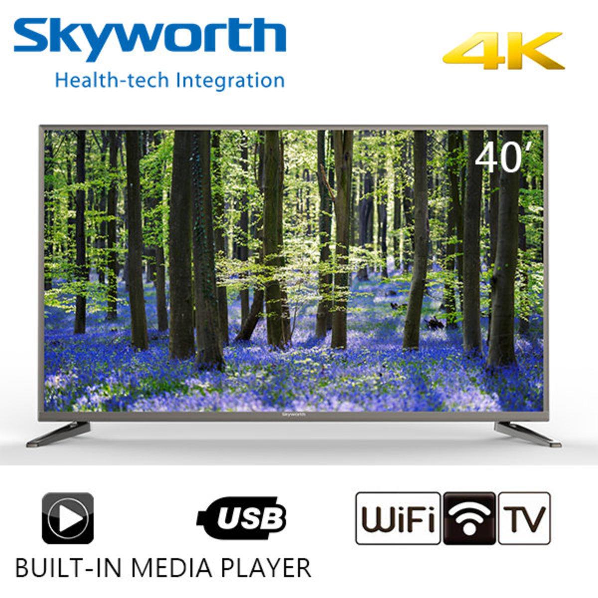 "40""E6200U 4K UHD Smart TV 智能電視 - LED-40E6200U"