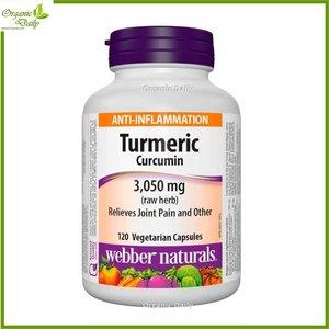 Webber Naturals 健體薑黃素精華 (3050 毫克) 120 粒 120 粒素食膠囊