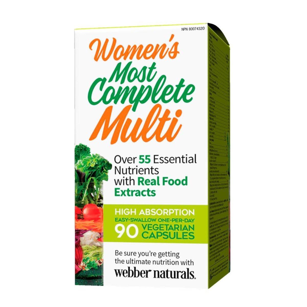 素食系列 - 女士全效綜合維他命營養素 90 粒