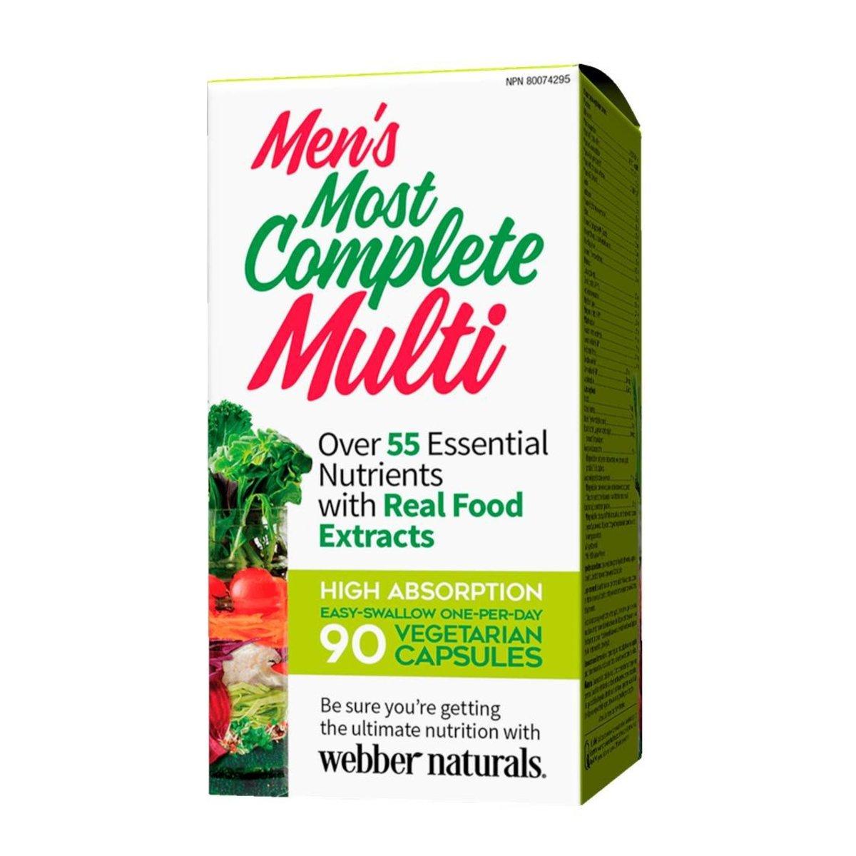 Men's Most Complete Multi 90 capsules