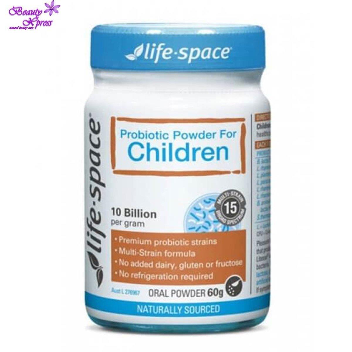 Life Space - 兒童益生菌粉 60克- 支援健康的免疫系統
