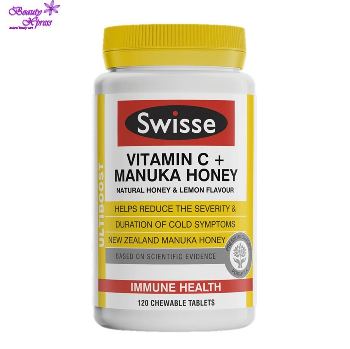 Ultiboost Vitamin C + Manuka Honey 120's (Expiry Date: 7/20)