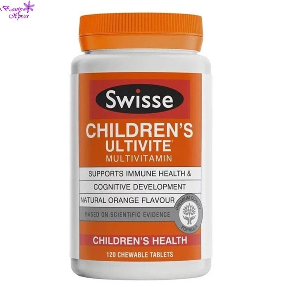 Children's Ultivite Multivitamin Chewable 120's