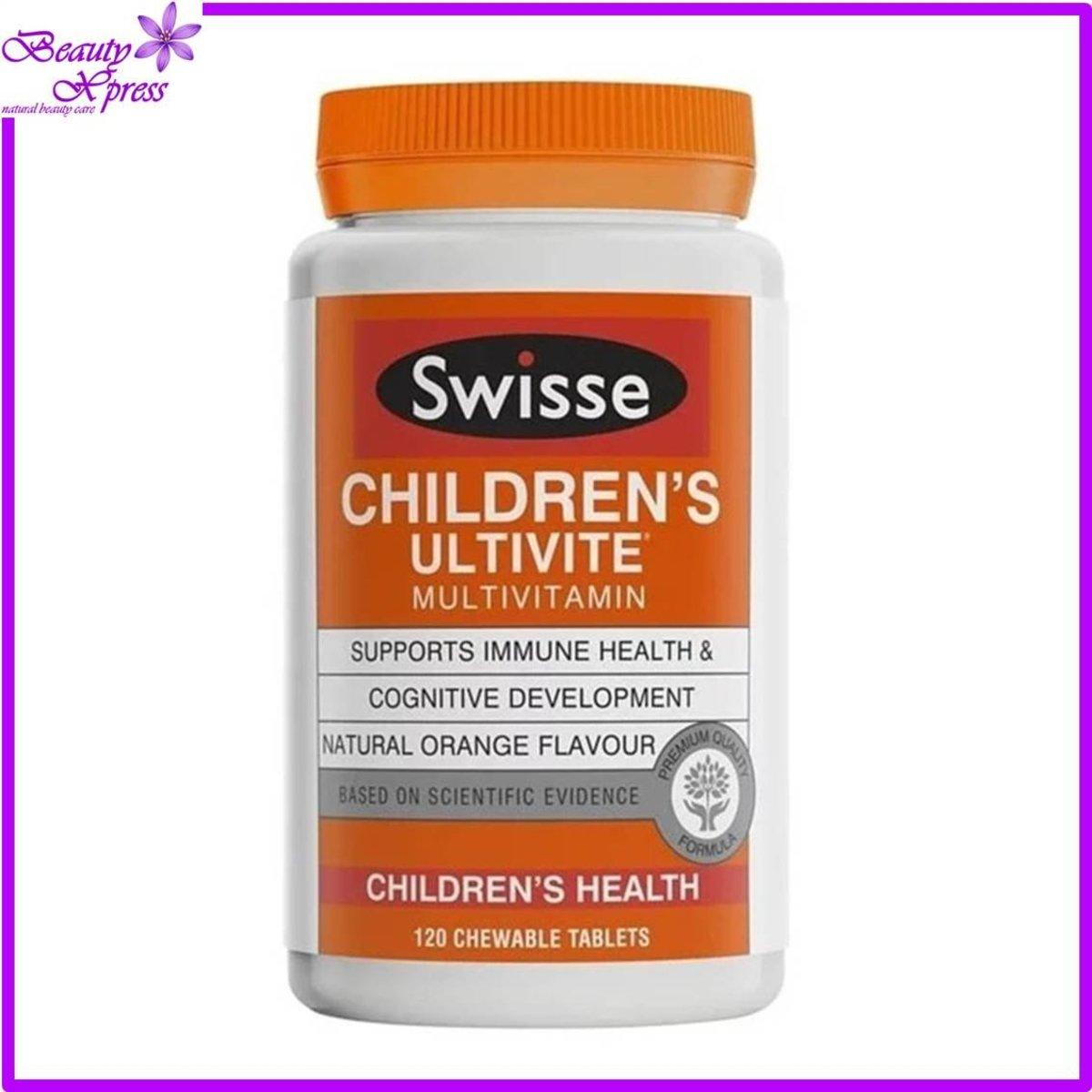 Ultivital 兒童多種維他命營養咀嚼片 120 粒