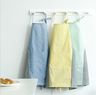 Cloth erasable apron (apricot pink)