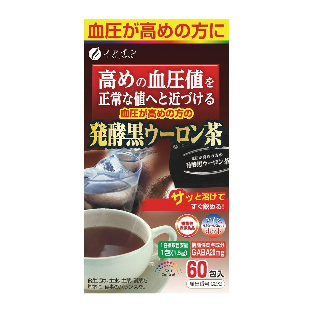 FINE Function Claims Fermented Black Oolong Tea 90g (1.5g x 60bag) (013384)