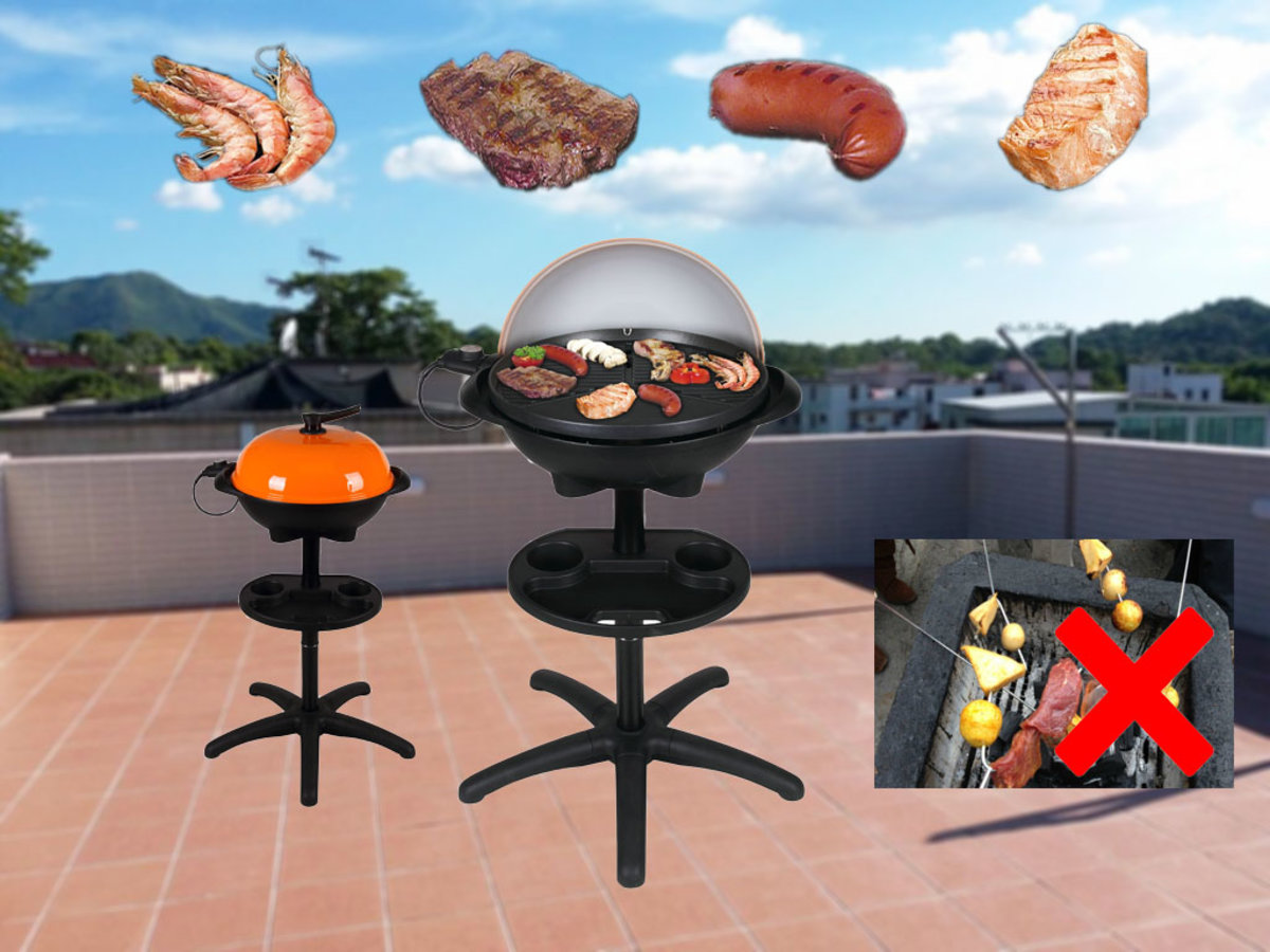 2000W Out Door Electric BBQ Grill TBQ-367