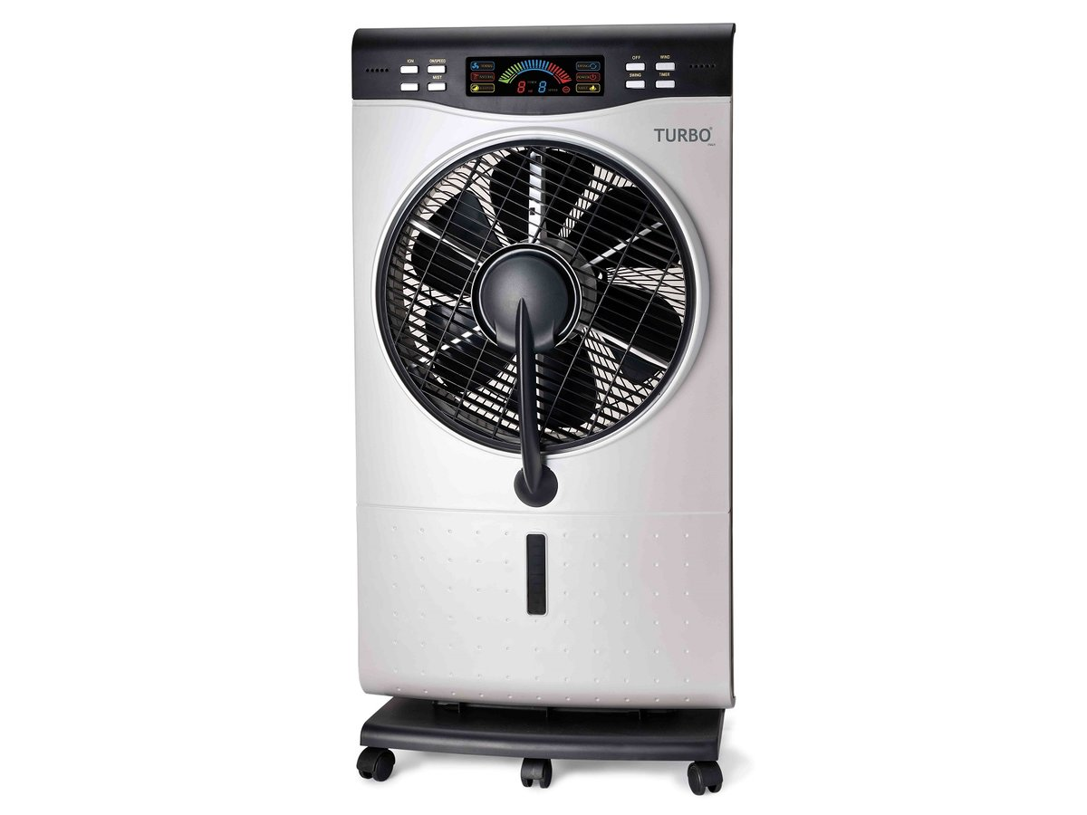 Cooling Mist Fan with LCD, remote control, timer  THF-14