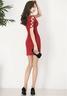 Slim V-neck Sexy Dress