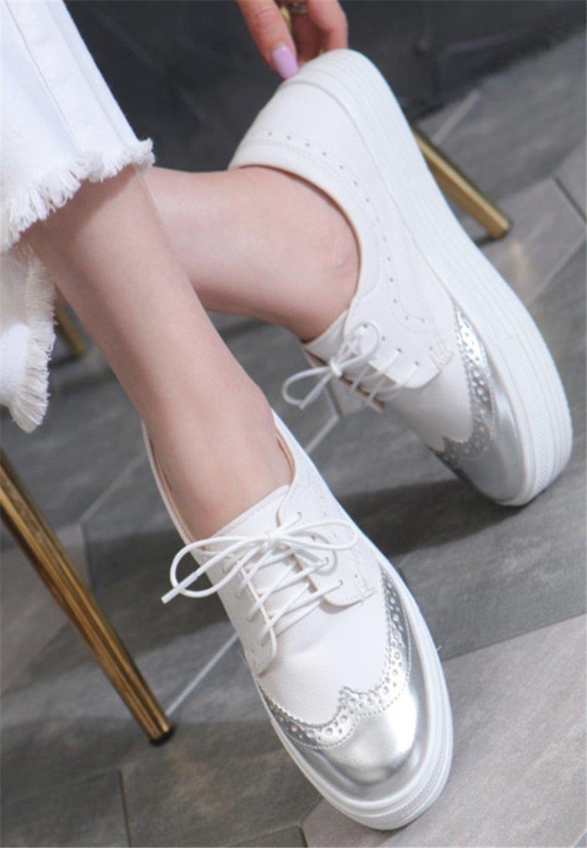 Korean Made Versatile Platform Casual Shoes
