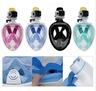 Micro Sun - Snorkeling integrated mask (Green)