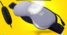 Steam eye mask with cold pad