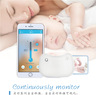 Real time blutooth baby thermometer (white)