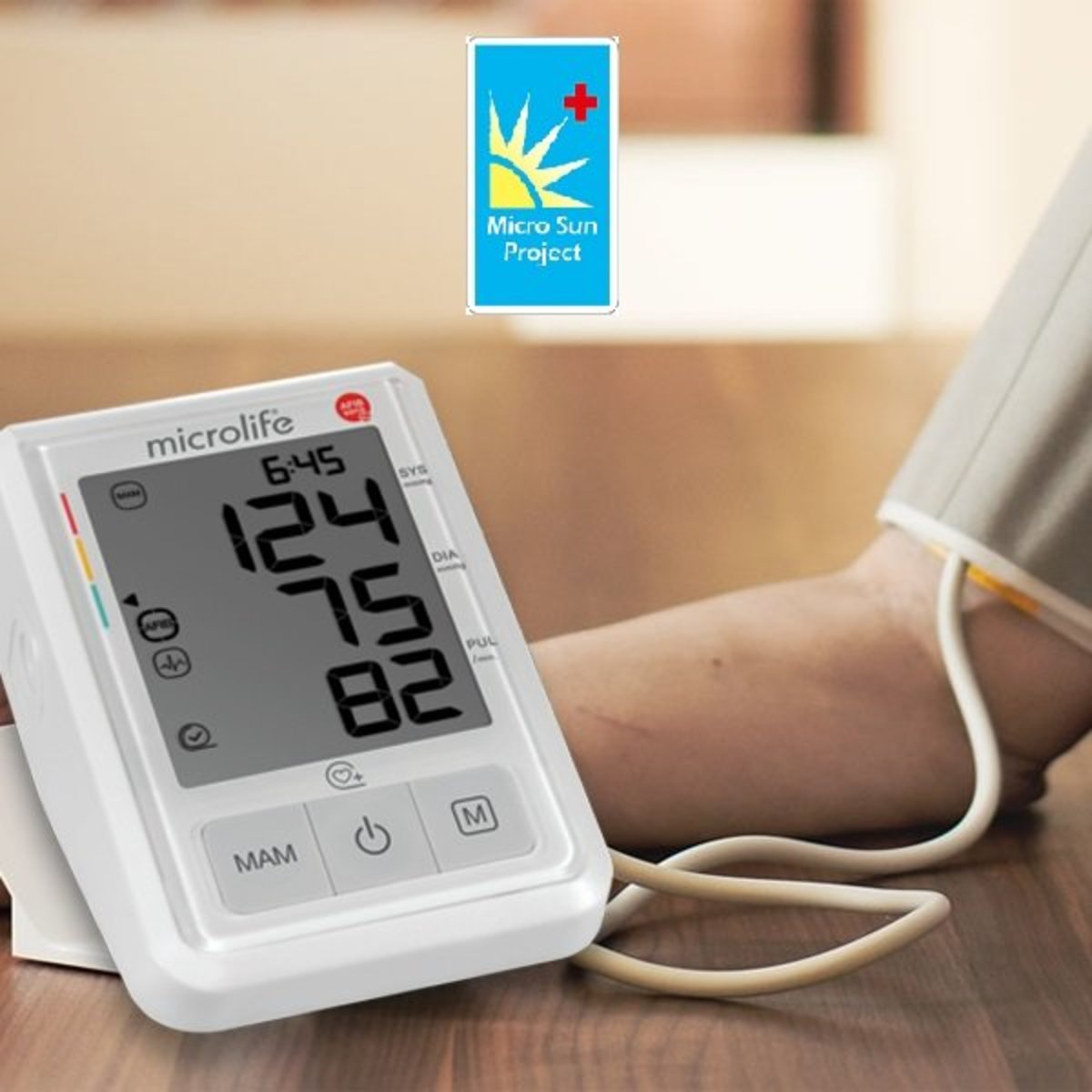 Microlife World's First Atrial Fibrillation and Heart Rate Imbalance (B3)