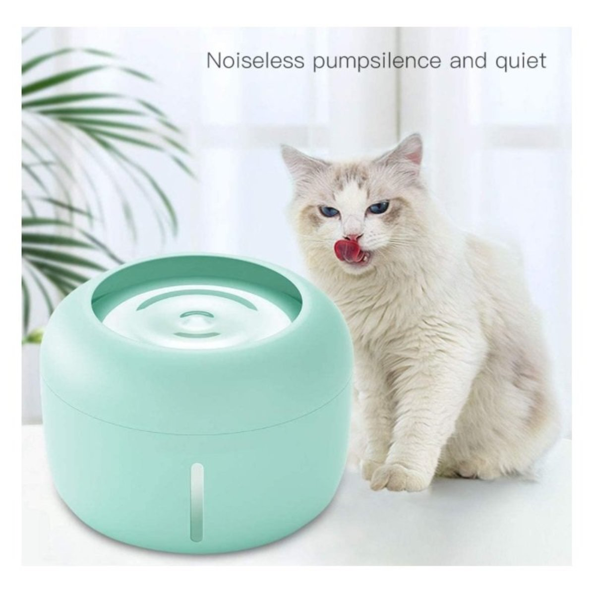 Pets Water Fountain, Dog Water Dispenser, Pets Cat Water Fountain, 2.5L Automatic Cat Water Fountain