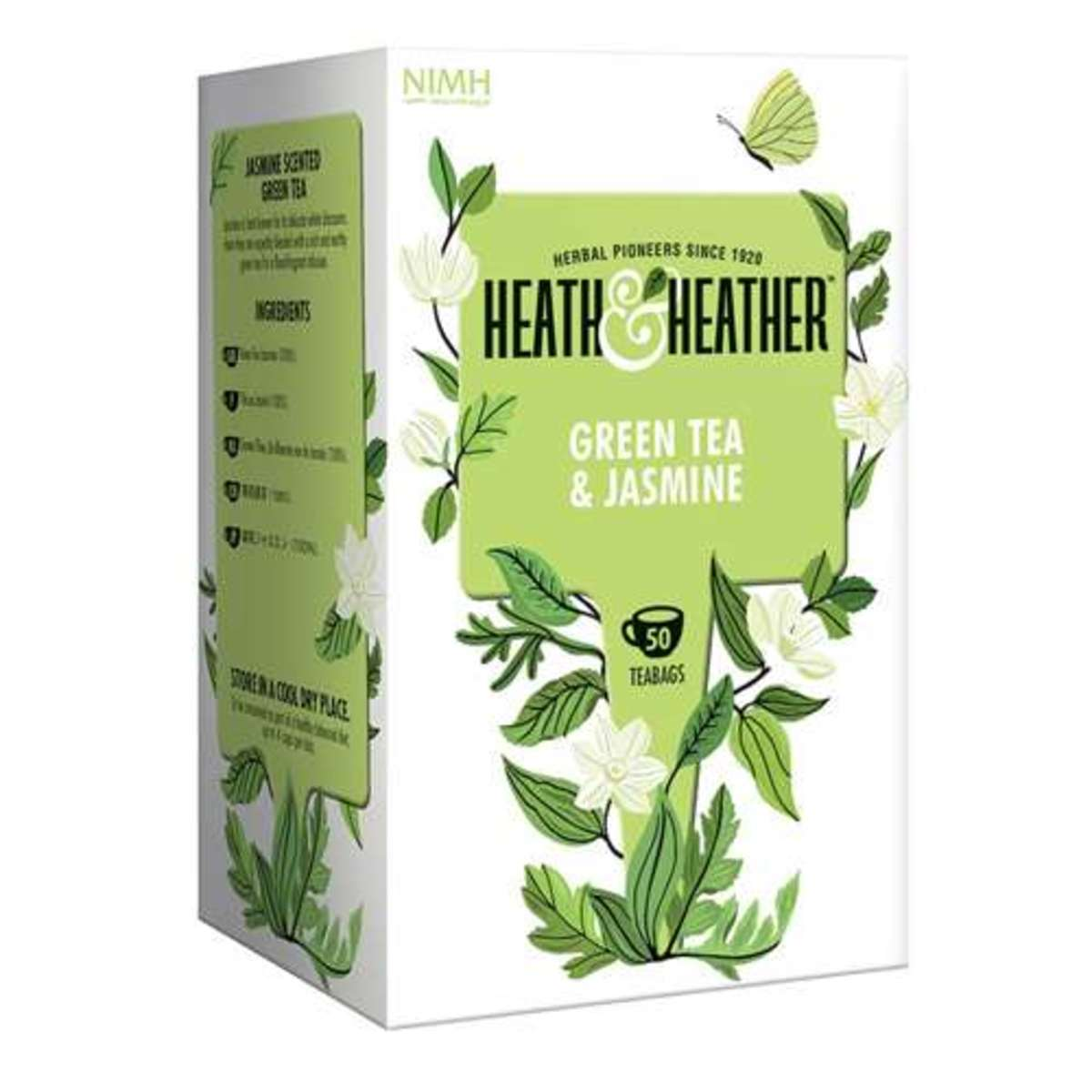 HEATH & HEATHER綠茶茉莉50包  (平行進口)