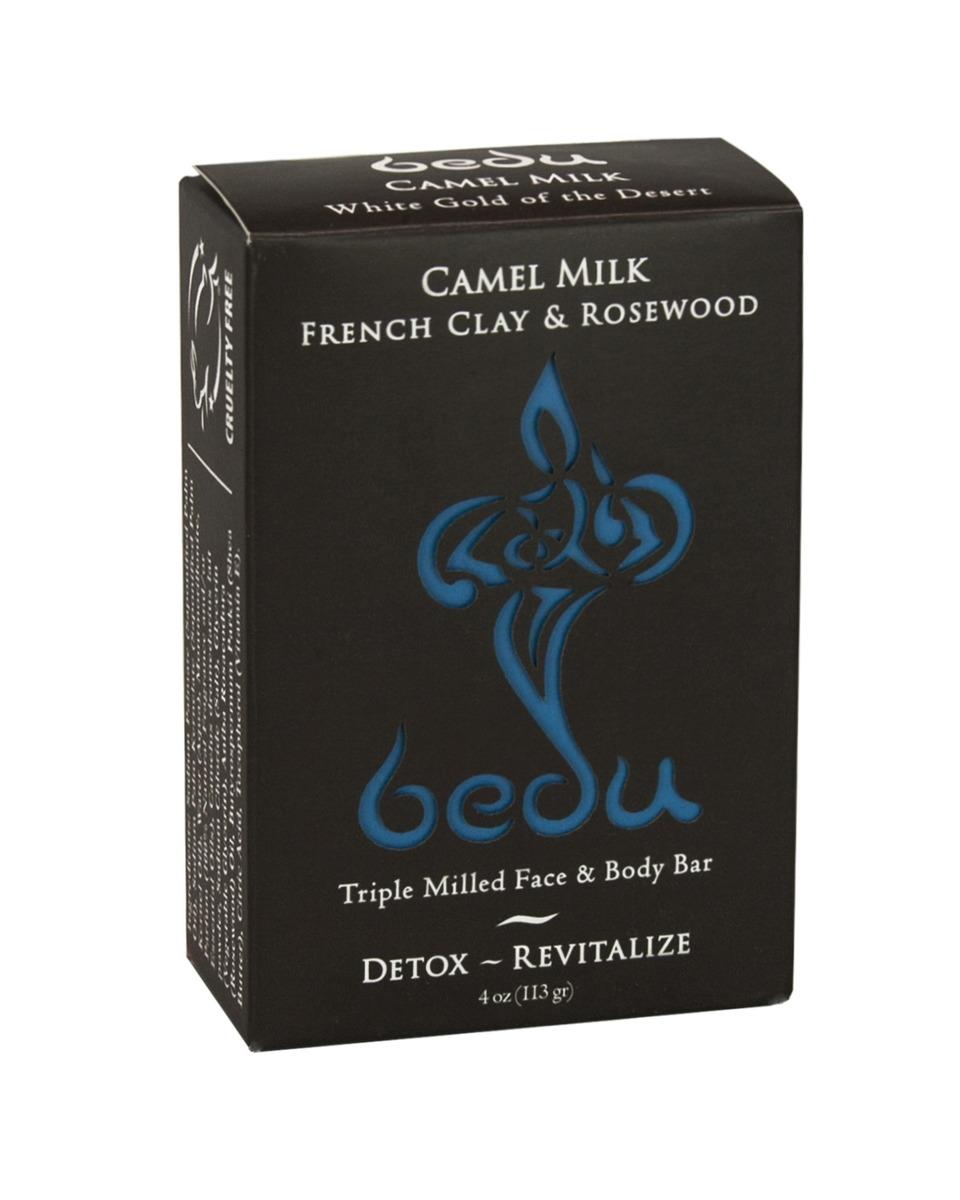 BEDU駱駝奶法國粘土及紫檀潔膚皂 4 oz(113g) (平行進口)