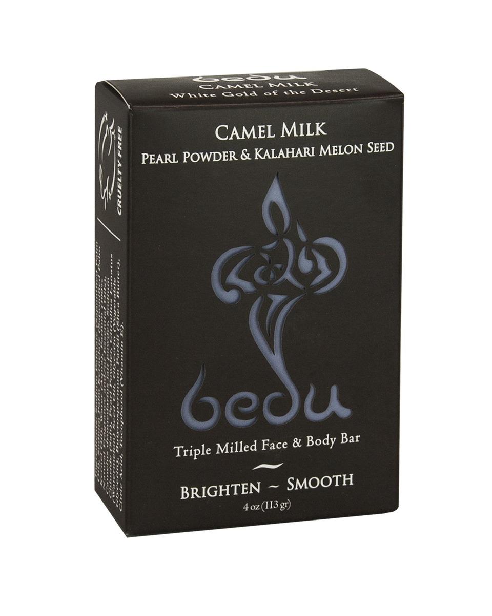 BeduCamel Milk Pearl Powder & Kalahari Melon Seed Face & Body Bar 4 oz(113g)(Parallel Import)