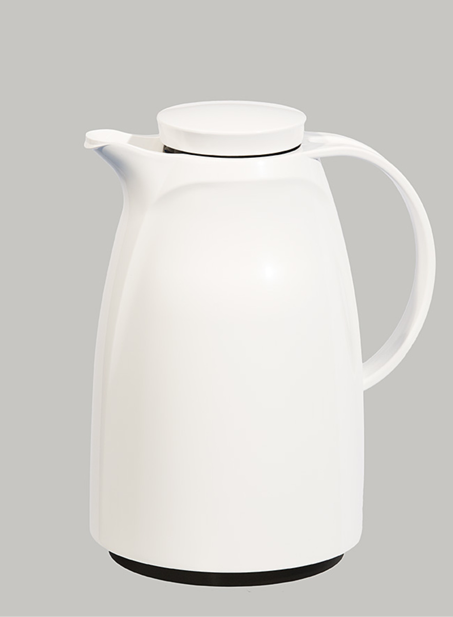 Vacuum Jug (Glass Liner) 2000ml White (Made in Germany)