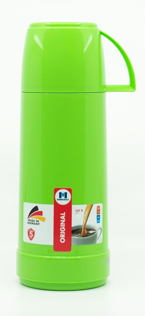 德國製造便㩗式 玻璃膽 暖壺 暖水壺 真空壺 1.0L|Made in Germany (亮麗綠色)