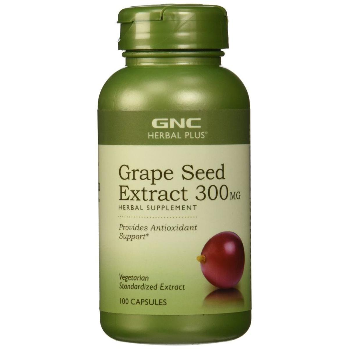 Grape Seed Extract 300MG 100 Capsules