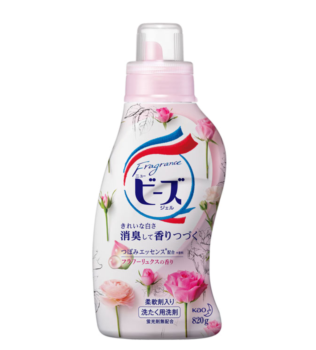 Luxury Clothing Fragrance Softener Rose 820g