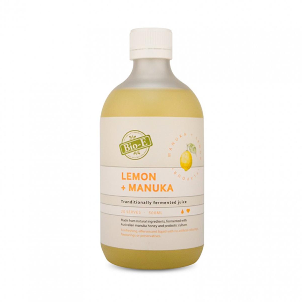 Lemon + Manuka Tranditionally Fermented Juice 500ML