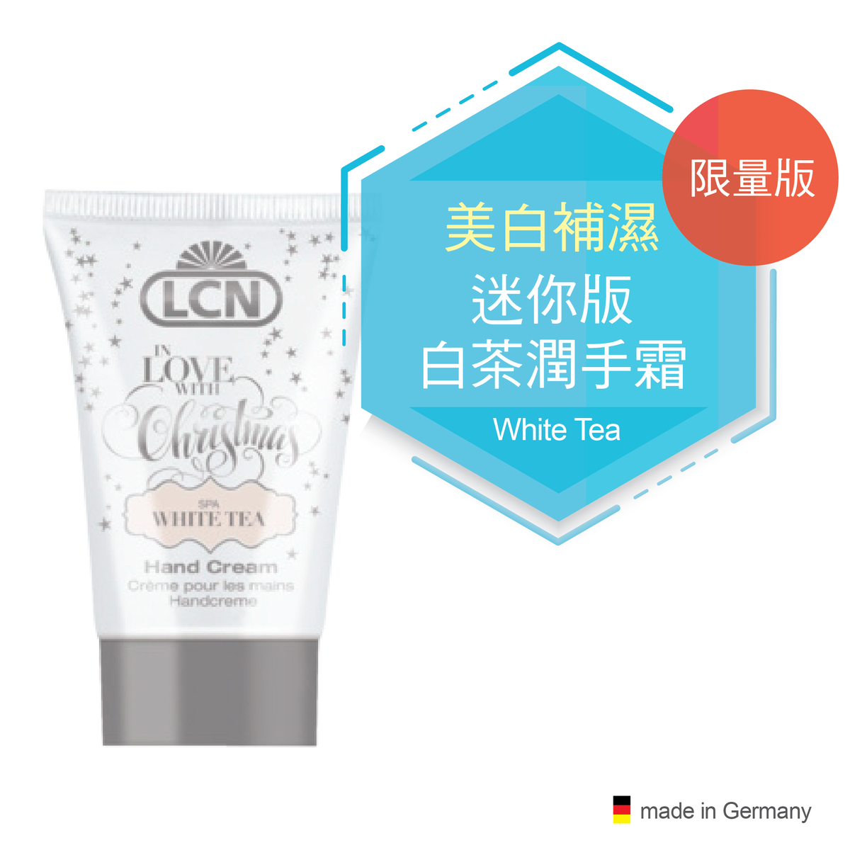"Hand Cream ""SPA White Tea"", 30ml"