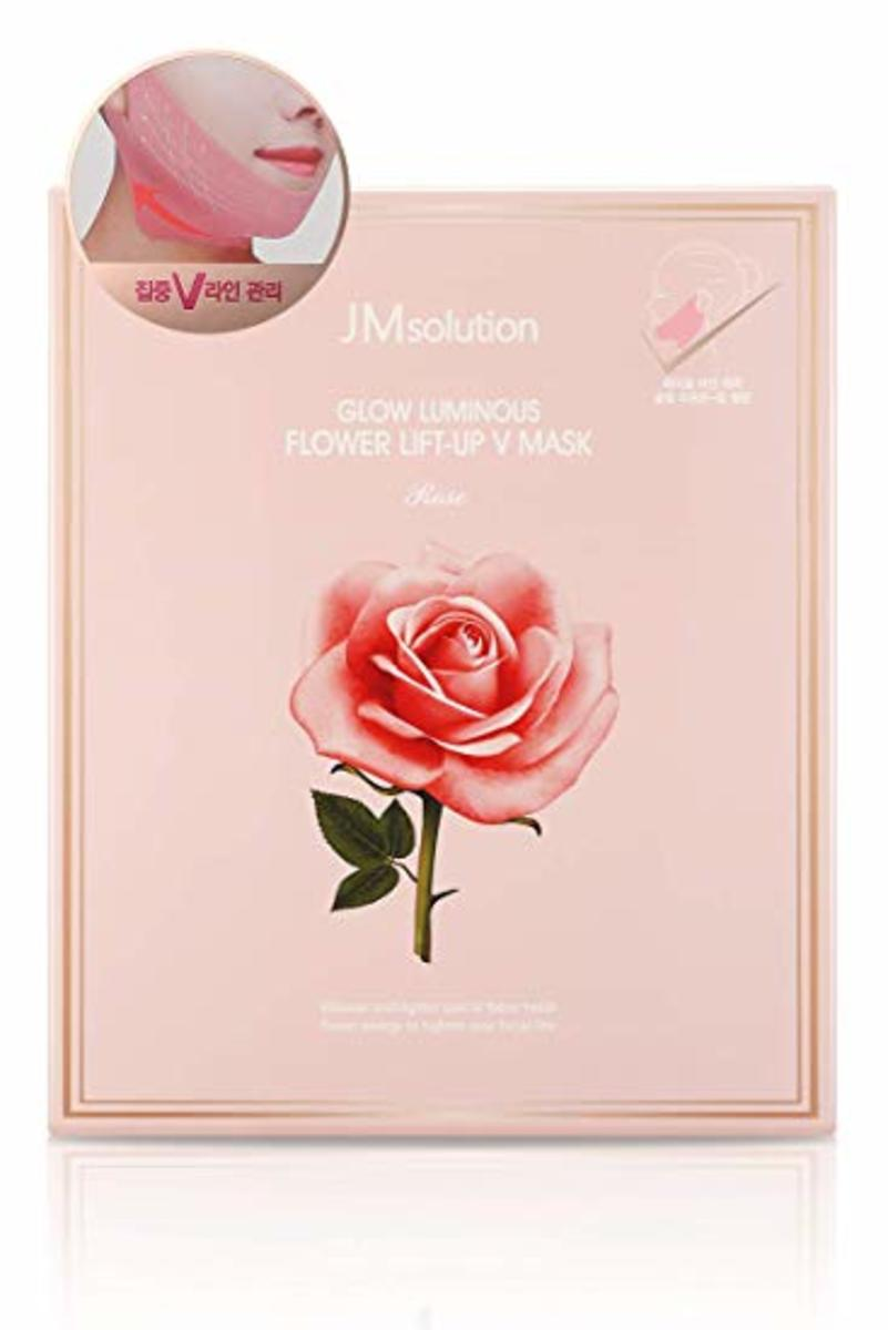 Glow Luminous Flower Lift-Up V Mask (10pcs/pack) -[Parallel Import Product]