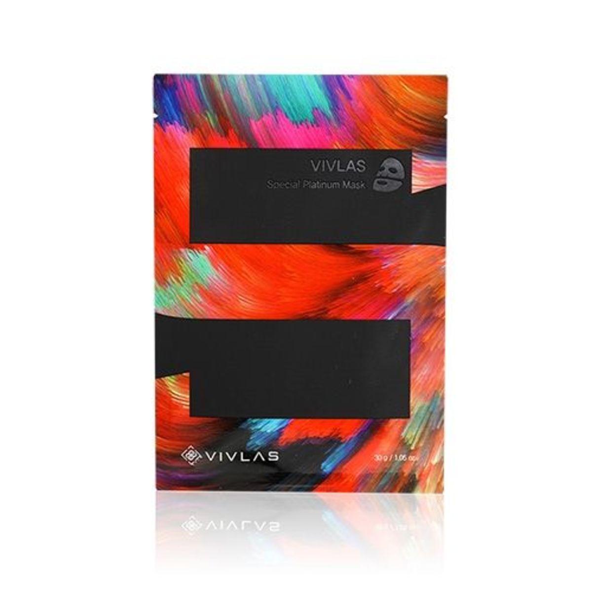 VIVLAS Special Platinum Mask (5pcs/pack) -[Parallel Import Product]