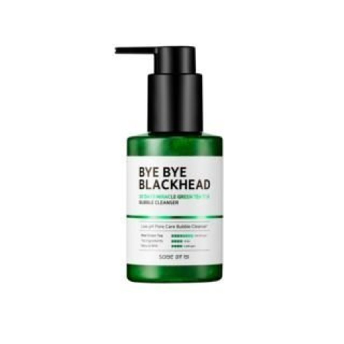 [ByeBye Blackhead] 30 days Miracle Green Tea Tox Bubble Cleanser 120g -[Parallel Import Product]