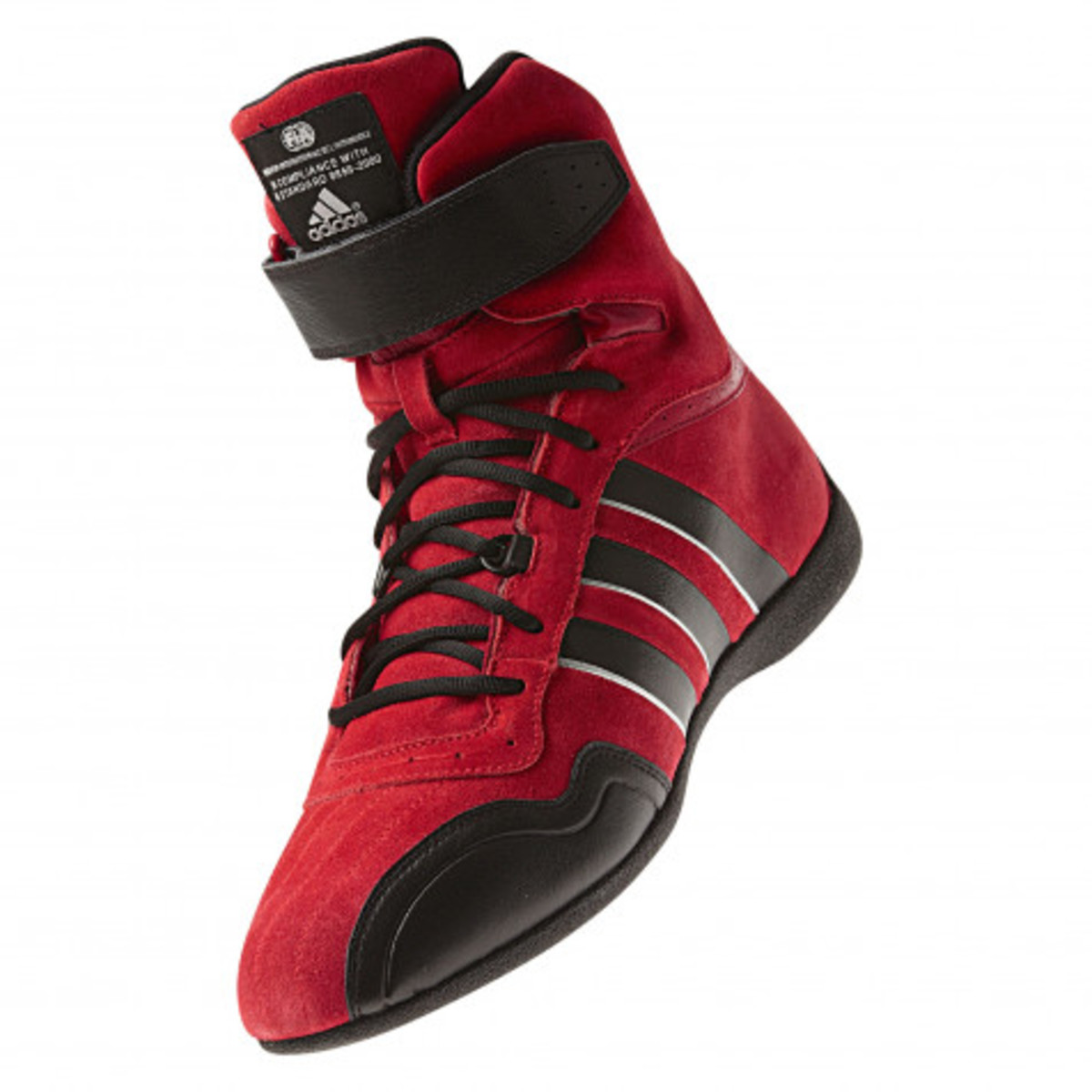 ADIDAS FEROZA ELITE RACING BOOTS - RED/BLACK